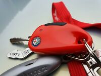 Alfa Romeo 145 146 156 166 GT GTV Spider key fob housing with rubber pad button