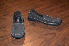 A15- Faded Glory Brown Leather Upper Loafers Size 7.5