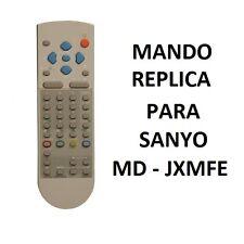MD - JXMFE / 1AV0U10B17600 MANDO DISTANCIA COPIA SANYO // REMOTE SANYO VCR