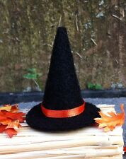 """Dollhouse Witch Hat Halloween Costume Witch's Hat Fall Autumn 1"""" Miniature 1:12"""