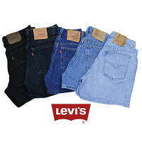 GRADE A LEVIS VINTAGE WOMENS HIGH WAISTED BOYFRIEND FIT SHORTS SIZE 6 8 10 12 14