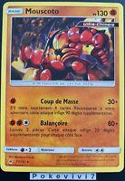 Carte Pokemon MOUSCOTO 77/131 Rare Soleil et Lune 6 SL6 FR NEUF