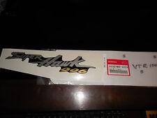 NOS Honda OEM 98-05 VTR1000 Super Hawk Decal Cowl LH 1 64242-MBB-A50ZA
