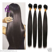 Peruvian Virgin Hair Straight Hair Human Hair Extensions Weave 4 Bundles 400g