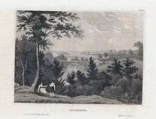 CARLSCRONA in Schweden-StSt. um 1840 BIH-11,0x15,5 cm