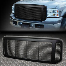 FOR 05-07 FORD SUPER DUTY/EXCURSION ABS FRONT HORIZONTAK MESH GRILLE GUARD BLACK