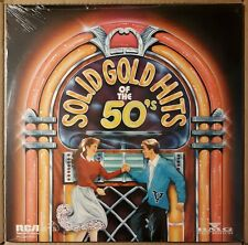 Solid Gold Hits of the 50s LP Various Elvis~Jerry Lee Lewis~Del Vikings~SEALED
