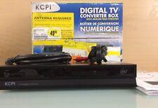 KCPI DT504 Digital TV Converter Box with Analog Pass-Through W/O Remote (J4)