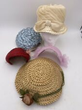 Lot Of 5 Vintage Womens Hats