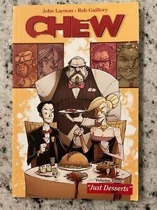 Chew Vol # 3 TPB Graphic Novel Comic Book Just Desserts Image Comics Layman J588