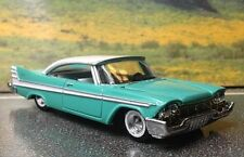 57 1957 PLYMOUTH FURY  DIORAMA RARE 1/64 LOOSE DIECAST  CAR