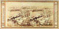 Italia Venezia Ca 1865 Foto G.Sommer, Stereo Vintage Albumina PL6