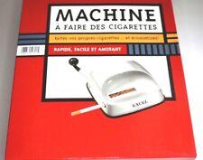 EXCEL DELUXE Stopfmaschine Drehmaschine für Zigaretten Hülsen Stopfer Drehen