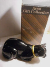 """Avon presents PURRFECT Cat Decanter with """"Heres my Heart"""" cologne 1.5 FL.OZ."""