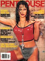 Penthouse Magazine November 1995 - Linda Thompson, Cybersex, Women Wrestlers