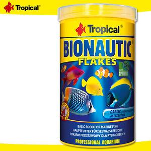 Tropical 1000 ML Bionautic Flakes Mangime Principale Per Seewasserfische