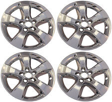 """(4) 2012 DODGE CHARGER 17"""" WHEEL LINERS SKINS HUBCAPS CHROME IMP-352X"""