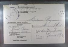 Camp Stalag VA Ludwigsburg 1943 POW Prisoner Belgium Kriegsgefangenenpost K26