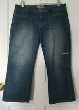 l.e.i. LEI-44 Authentic Workwear 5 Star cargo capri jeans Size 11 cropped/capris
