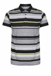 WEEKEND OFFENDER Campinas Polo a Righe Nero