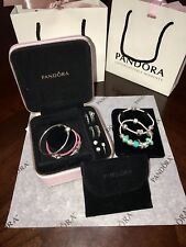 Pandora Pink Jewelry Travel Case! RARE* 2017 LIMITED EDITION
