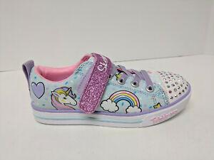 Skechers Twinkle Toe Sparkle Lite Unicorn Sneakers, Multi, Little Kids 13 M