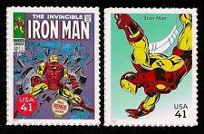 The Invincible Iron Man Avengers Infinity War Tony Stark Marvel Superhero Stamps