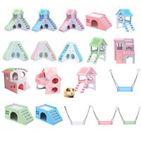 Cage Nest House Bed For Small Animal Pet Hamster Chinchilla Squirrel Castle Toy