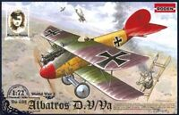 Roden 032 Albatros D.V/D.Va German Fighter WWI Scale Plastic Model Kit 1/72