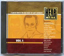 HEAR IT HERE Vol 1 COLDPLAY Alanis Morissete ELTON JOHN Sinead O'Connor GUS GUS