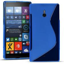 Handy Hülle für Nokia Lumia 1320 Silikon Case Slim Cover Schutz Hülle Tasche