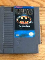 Batman: The Video Game (Nintendo Entertainment System, 1990) - Authentic