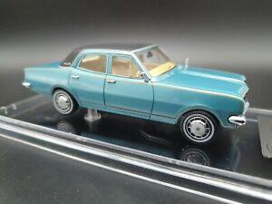 Trax Select TSS01 1968 HK Holden Brougham Sedan Blue-Black 1/43 Resin Model Mint