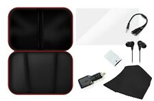 Premium 7 in 1 Nintendo Switch Travel Essentials Kit Bundle Set Car Charger Case