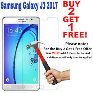 For Samsung Galaxy J3 2017 - 100% Genuine Tempered Glass Film Screen Protector