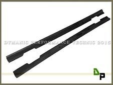 DP Style Carbon Fiber Side Skirts Lip For M-BENZ W117 CLA180 CLA200 CLA250