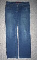 "Fire Blue Denim Jeans Lisa Skinny 32"" Waist 30"" Inseam Eleven 11 Women's Pants"