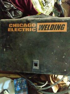 Chicago Electric Welding Mig 170 Wire Feed Welder