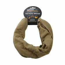 SNOOD COYOTE  ARMY TACTICAL NECK FACE WARMER SCARF HEADBAND