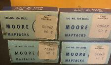 4lot Vintage Moore Map Tacks B8