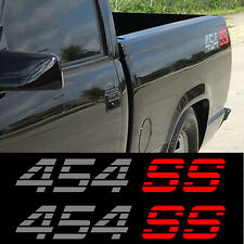 Chevy pickup 1990 454 SS Decal stickers set of 2 Chevrolet Silverado sierra 4x4