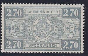 Belgium 1923 - Railway stamp Cob TR.153 - Cat Value 70 € - Mint Hinged