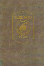 Blackfoot Idaho High School Yearbook 1926 The Bronco
