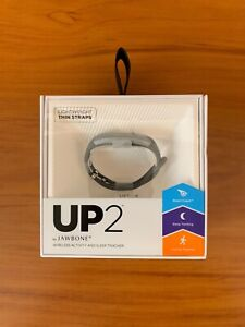 Jawbone Up2 Wireless Activity and Sleep Tracker JL03-6363CFI-US Dark Grey NEW