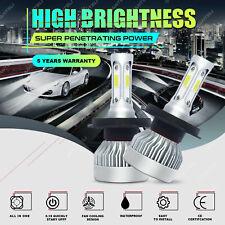 H4 9003 1700W 255000LM 3-Side CREE LED Conversion Headlight KIT Hi/Lo Beam 6000K
