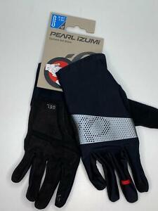 new 2021 Pearl Izumi men's CYCLONE GEL winter GLOVE Black Multiple Sizes