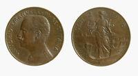 s734_75) Vittorio Emanuele III (1900-1943) 2 centesimi Prora 1916