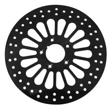ULTIMA 11.5 BLACK KING SPOKE FRONT BRAKE ROTOR FOR HARLEYS