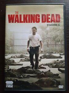 THE WALKING DEAD STAGIONE 6 DVD ITALIANO visto una volta come nuovo