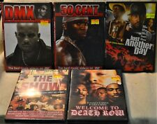 DVD Lot X 5 Rap DMX 50 Cent Just Another Day Welcome to Death Row The Show Dre